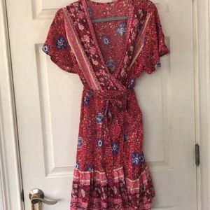 Wrap dress in xl